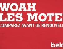 Campagne affichage BelairDirect