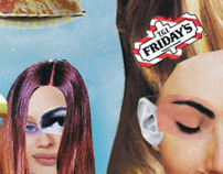 Friday's Menu Cover