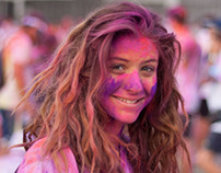 Color Run, September, Milan.