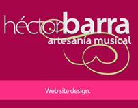 Web Site Artesanía Musical