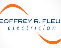 Geoffrey Fleury Electrician- Identity Design