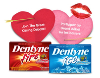 Dentyne - Great Kissing Debate