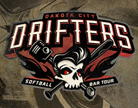 Dakota City Drifters Logo Design