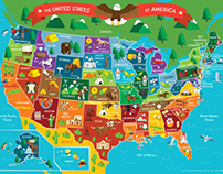 Young Explorers Fact Book & Floor Puzzle: 50 States