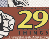 """29 Things"" Poster Redesign"