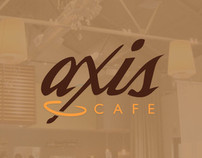 Axis Cafe Branding