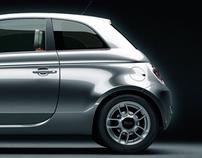 Fiat 500 // CGI