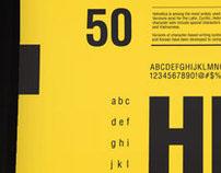 Helvetica Typographic Poster