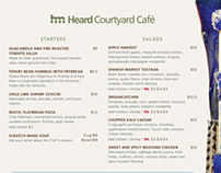 Heard Cafe Menu's