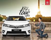 Toyota Carolla Launch Campaign