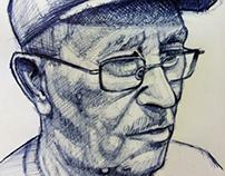bocetos  bolígrafo  bic ilustración