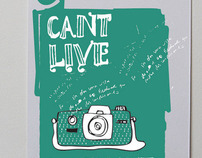 "Ilustration ! ""Cant live without"""