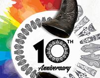 Bogobiri 10th Anniversary Poster Design