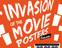 Invasion Of The Movie Posters (Exhibit)