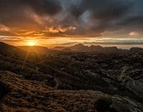 Sunset in Wadi Musa
