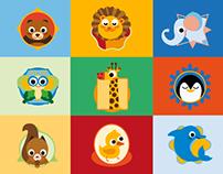 Chiquitín Children School Class Badges