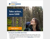 Email campaign for Providence Health