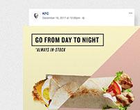 KFC Black Friday Social Media Campaign