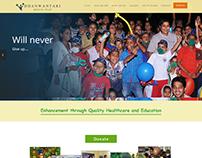 Website For Dhanwantari Medical Trust