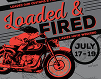 Loaded and Fired event poster