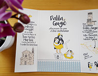Wedding stationery: Dalila e Giugio