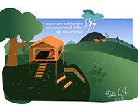 Jumghor- a Hill House