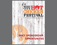 Nashville Hot Chicken Festival Sponsorship Booklet