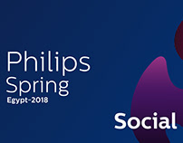 Philips Egypt - Social media Posts & GIF Spring 2018