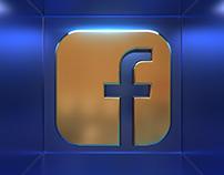 Social Media 3D Icons