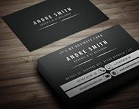 Black Tone Business Card