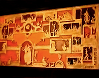 'Krishna's Life' Mural Art