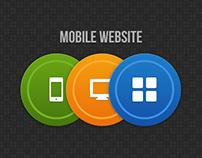 Mobile Website Concept