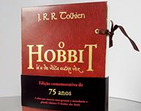 "Livro ""O Hobbit"" de J. R. R. Tolkien"