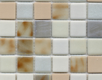 Recycled Glass Tiles: Inspirations Blends