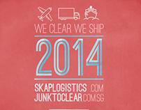 2014 Calender Design for SKAP Logistics
