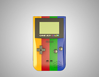 Fictional Game Boy Color add