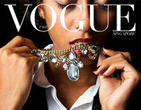 'FAKE' Vogue Singapore - Bright Lights Big City
