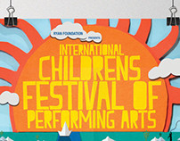 Collateral for INTERNATIONAL CHILDRENS FESTIVAL