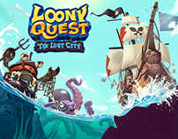 Wallpaper for Loony Quest Lost City