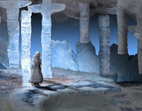 Ice Wolf- Set and Lighting Design