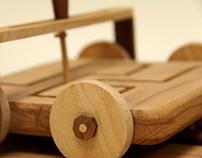 wooden mind game