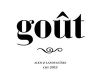 Goût: Display font