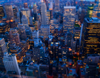 Manhattan tiltshift