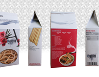 F-Udon Noodles - Package Design