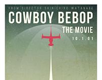 Cowboy Bebop Poster Redesign