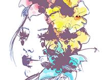 Flowermuses. Digital