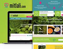 Mitlali.com, ecommerce web page design