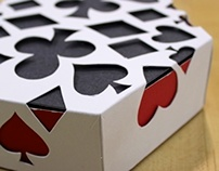 Suit & Die: Dice and Card Game Packaging