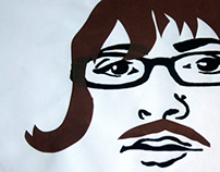 Self-Portrait via SilkScreening