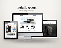 edelkrone Web Site Redesign